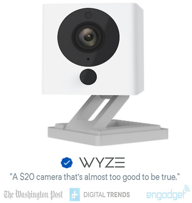 Wyze Cam v2 1080p HD Indoor WiFi Smart Home Security Camera Pet Cam Night Vision