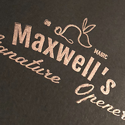 Maxwell's Signature Opener (Gimmicks and Online Instructions) by The Other Broth