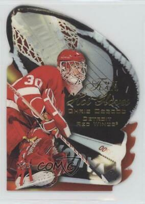 1996-97 Flair Hot Gloves #7 Chris Osgood Detroit Red Wings Hockey Card