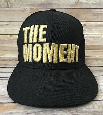The Moment Black Gold Logo New Era 9FIFTY Snap Back One Size Fits All Hat 4932017b8f69