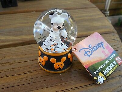 2018 Halloween Listing Is For One Miniature Snow Globes Mickey, Minnie, & Others