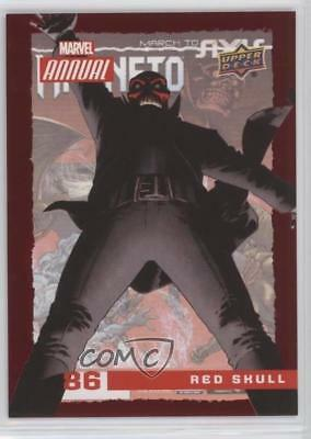 2016 Upper Deck Marvel Annual #86 Red Skull Non-Sports Card 5x5