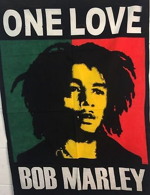 Bob Marley One Love Hippie Psychedelic Tapestry Wall Hanging