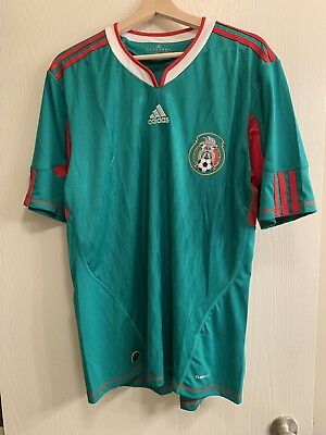 288567c62 Adidas Mexico 2010 World Cup Green Jersey