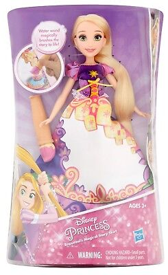 Disney Princess Rapunzel's Magical Story Skirt Doll with Water Wand RARE 3 & Up