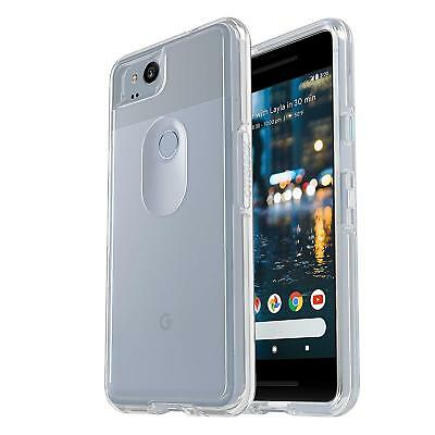 OtterBox Symmetry Hard Shell Snap Cover Case For Google Pixel 2 2nd Gen Clear