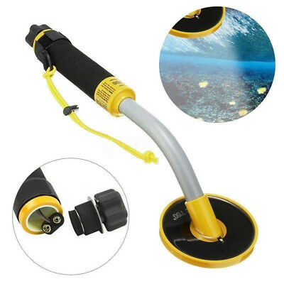 Metal Detector Tool Underwater Pulse Induction Hunter with LED Light & Vibration
