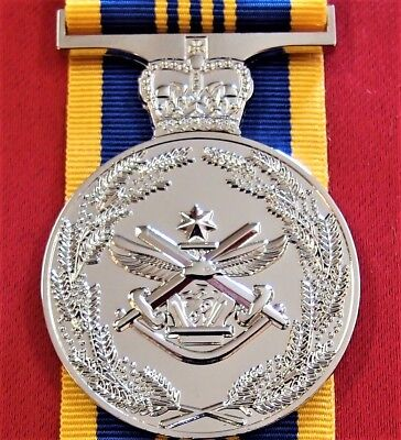 **Army Navy Air Force Australian Defence Long Service Medal Replica