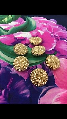 Chanel buttons cc Logo 6 Pieces 20 mm