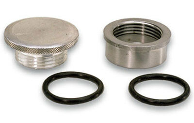 Moroso 85280 Cap and Steel Bung Kit - 1-1/4-12 in Thread/1.500 in OD