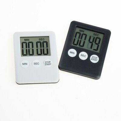 Large LCD Digital Kitchen Cooking Timer Count-Down Up Clock Loud Alarm Magnetics