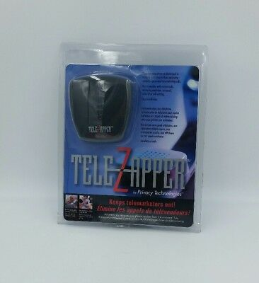 Tele Zapper, Keeps Telemarketers Out, Phone Privacy Device, Brand New In Package