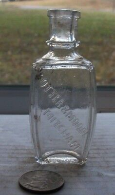 Nice Victorian Bottle Embossed, Potter & Moore Mitcham