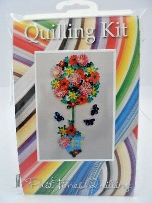 COMPLETE QUILLING KIT WITH TOOL PAPER INSTRUCTIONS CUPCAKES KD 11