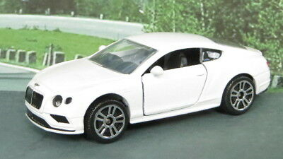 BENTLEY CONTINENTAL GT V8 S 1:64 (White) Majorette Passenger Diecast Car