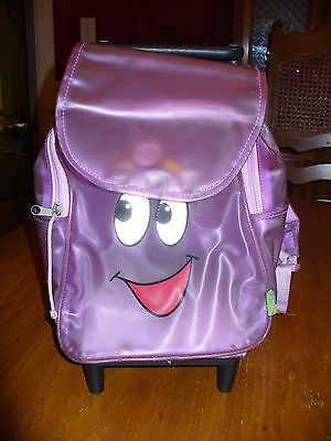 Dora the Explorer Suitcase School bag Wheels Retacable Handle Back pack