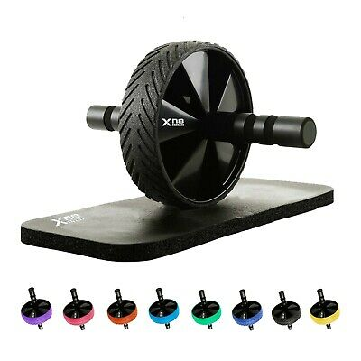 XN8 Pro Ab Wheel Roller With Knee Mat Abdominal core strength Exercise Fitness