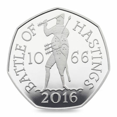 Battle of Hastings 2016 UK 50p Coin UNCIRCULATED