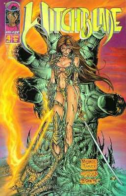 Witchblade (1995 series) #4 in Near Mint condition. Image comics [*wk]