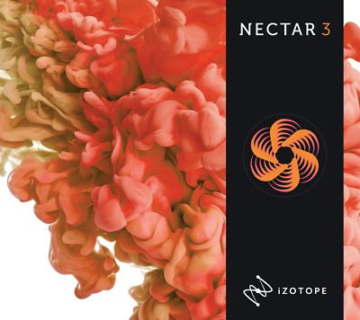New Izotope Nectar 3 Vocal Production Software Upgrade from Nectar 1 or 2 Mac/PC