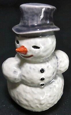 "Adorable Vintage Goebel West Germany Frosty? The Snowman Figurine 3.75"" Tal"