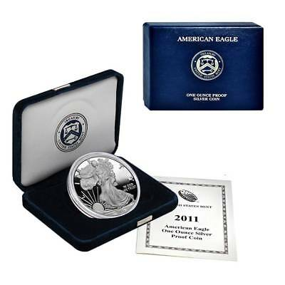 2011-W American Silver Eagle Proof (OGP & Papers)