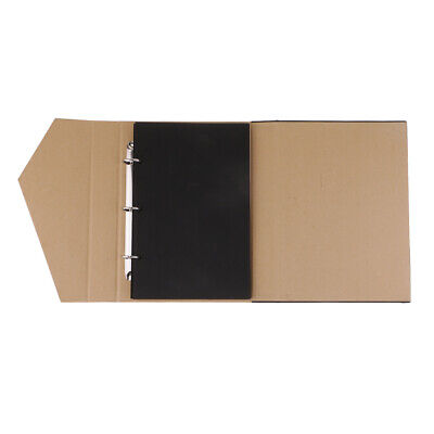 DIY Scrapbook Photo Album 60 Pages for Anniversary Gifts, Wedding Guest Book