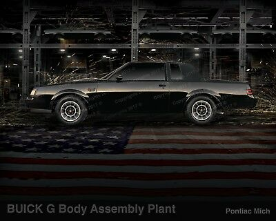 BUICK Grand National Factory Poster   WE4  T-Type  Turbo-T