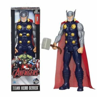 Kinder Jungs Marvel Ultimate Avengers Thor Action Figur Titan Heroes Figuren 12""