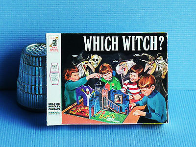 Dollhouse Miniature 1:12 Which Witch Game 1970s Halloween Haunted House game toy