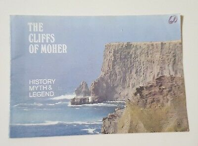 Vintage Tourism Booklet The Cliffs of Moher History Myth and Legend Ireland Rlc