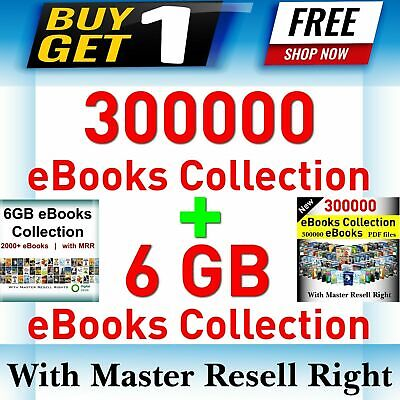 300000 eBooks Package Collection | Pdf Format | With Master Resell Rights