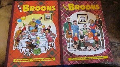 Bundle Lot 2 The Broons Annuals Book Scottish Comic 1997 1995