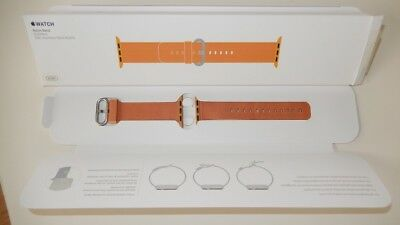 Apple Watch Band Nylon Woven 38mm Gold/Red/Orange MM9R2AM/A