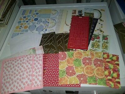 Package With Hobbycrafts Mix For Making Cards New (Hc686)