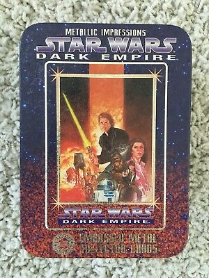 Star Wars Dark Empire Embossed Metal Collectors Cards & Tin 1995 LIMITED EDITION