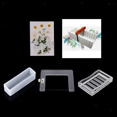 5x Handmade Soap Making Tool Soap Cutter Soap Mold Edge Trimming Soap Filler