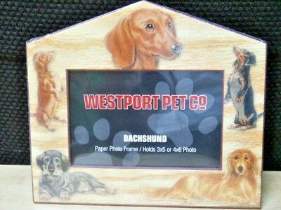 Dachshund 3 X 5 Or 4 X 6 Paper Photo Frame By Westport Pet Co   New