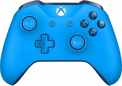 Microsoft XBOX One Wireless Video Gaming Controller, Blue