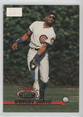1993 Topps Stadium Club 1st Day Issue #278 Dwight Smith Chicago Cubs Card