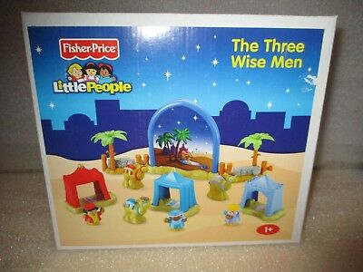 NEW Fisher Price Little People Kids The Three Wise Men Christmas Playset