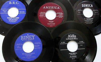 Latin 45s From The 1950s And Early 60s Lot Of 10 #626