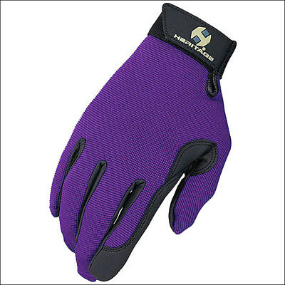 Heritage Performance Gloves, Size 6, Purple