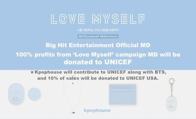 [Bts Official Md] Kpop  Bts 'love Myself' Campaign Md Donate To Unicef+Tracking