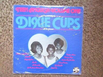 "The Dixie Cups ""teen Anguish Vol.1"" 1979 Charly Records Uk Nm/nm 11Trx.comp Oop"