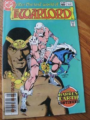 WARLORD Enter the Lost World of .. DC Comic # 72 Aug. 1983 NM