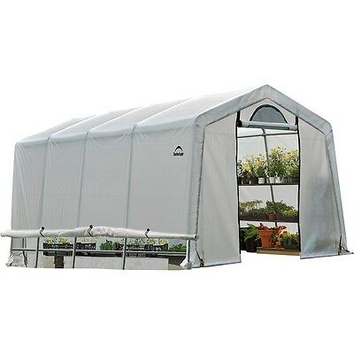 Large Outdoor Greenhouse ShelterLogic Green House Walk In Structure 10 x 20 x 8