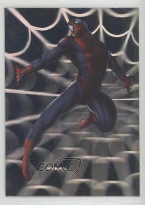 2002 Topps Spider-Man: The Movie Spidey Holograms #H4 Spiderman Spread Eagle 2ts