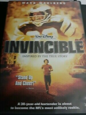 Invincible Mark Wahlberg DVD 2006 Widescreen Brand New Sealed Free Shipping