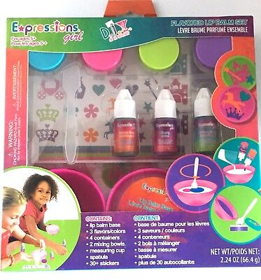 Expressions Girl DIY Make Your Own Lip Balm Set - Ages 5+